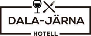 design and powered by sweedly webbyrådala-järna hotell Svart logotyp